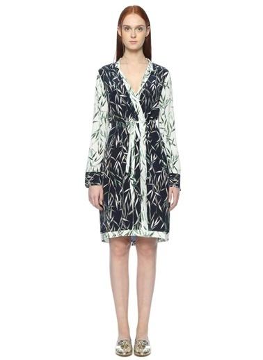 Yaprak Desenli Anvelop Elbise-Equipment